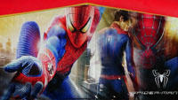 Amazing Spiderman Bounce-Water Slide Combo