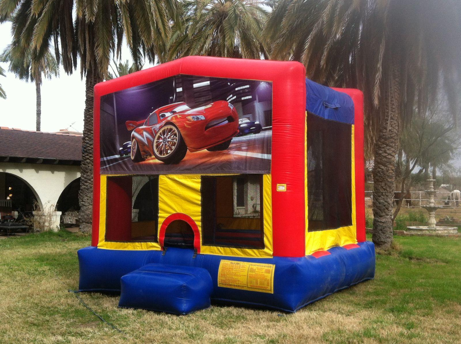 Cars Theme Bounce House Rental