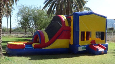 Bounce Slide Combo Wet with optional Themed Panels