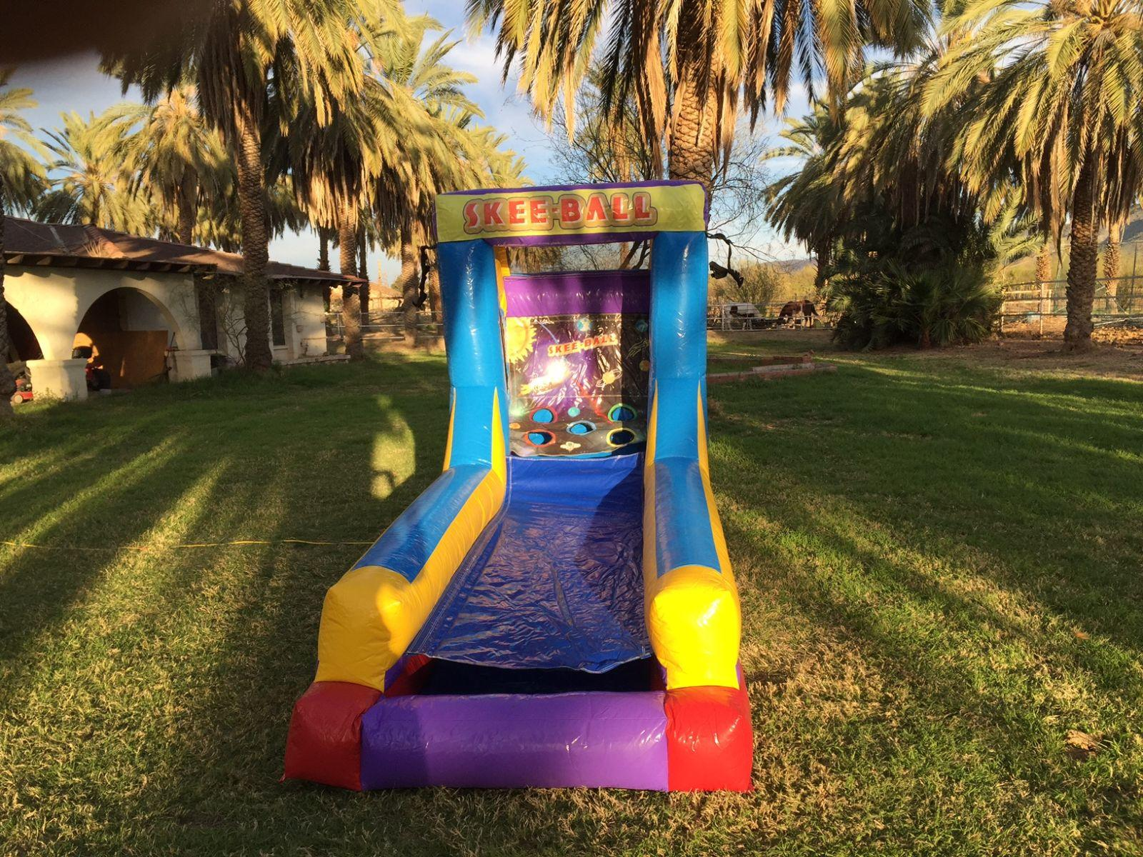 Portable Skee Ball Game Rental Arizona