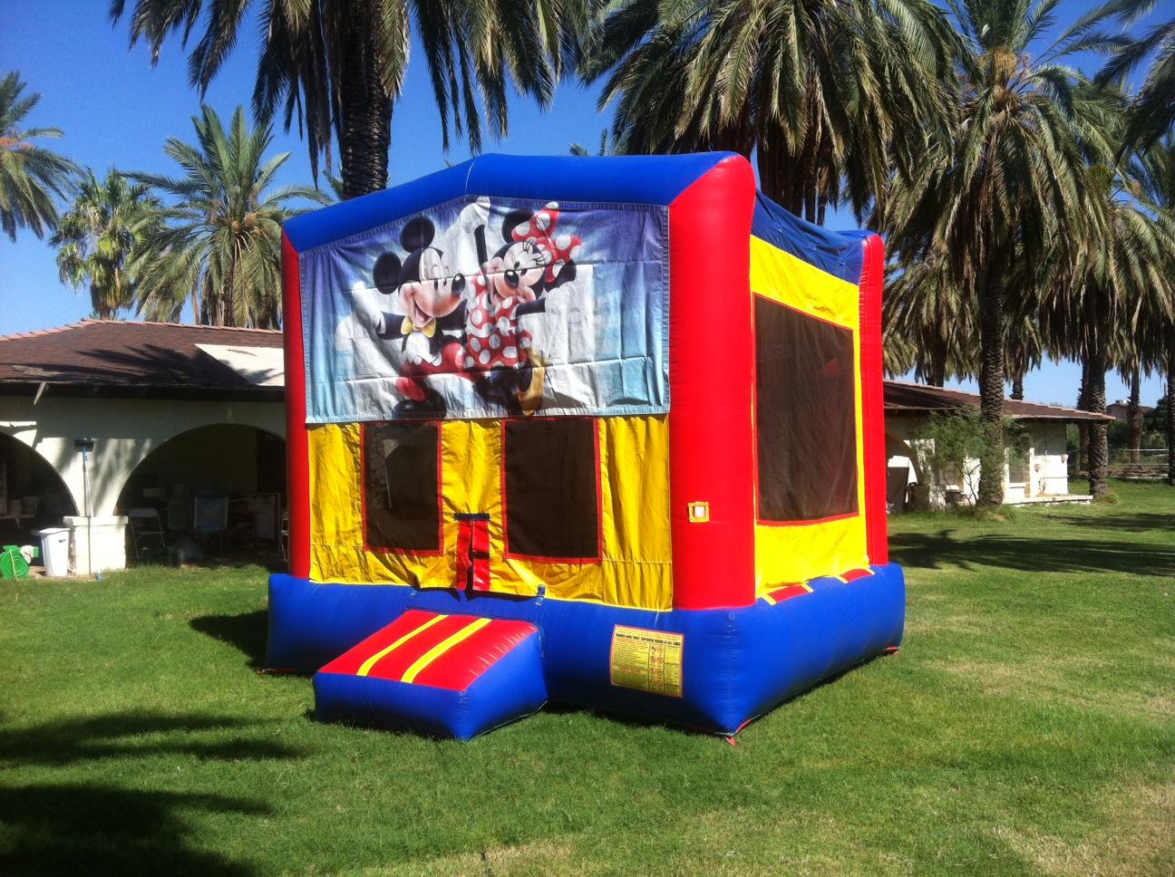 Toddler Mickey Mouse Bounce House