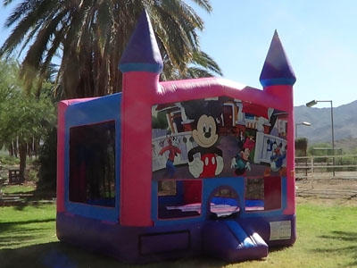 Mickey and Minnie Mouse theme party