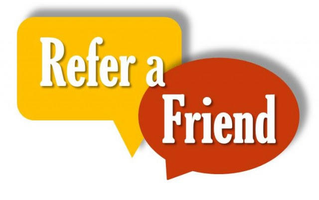 Refer a Friend and earn credit