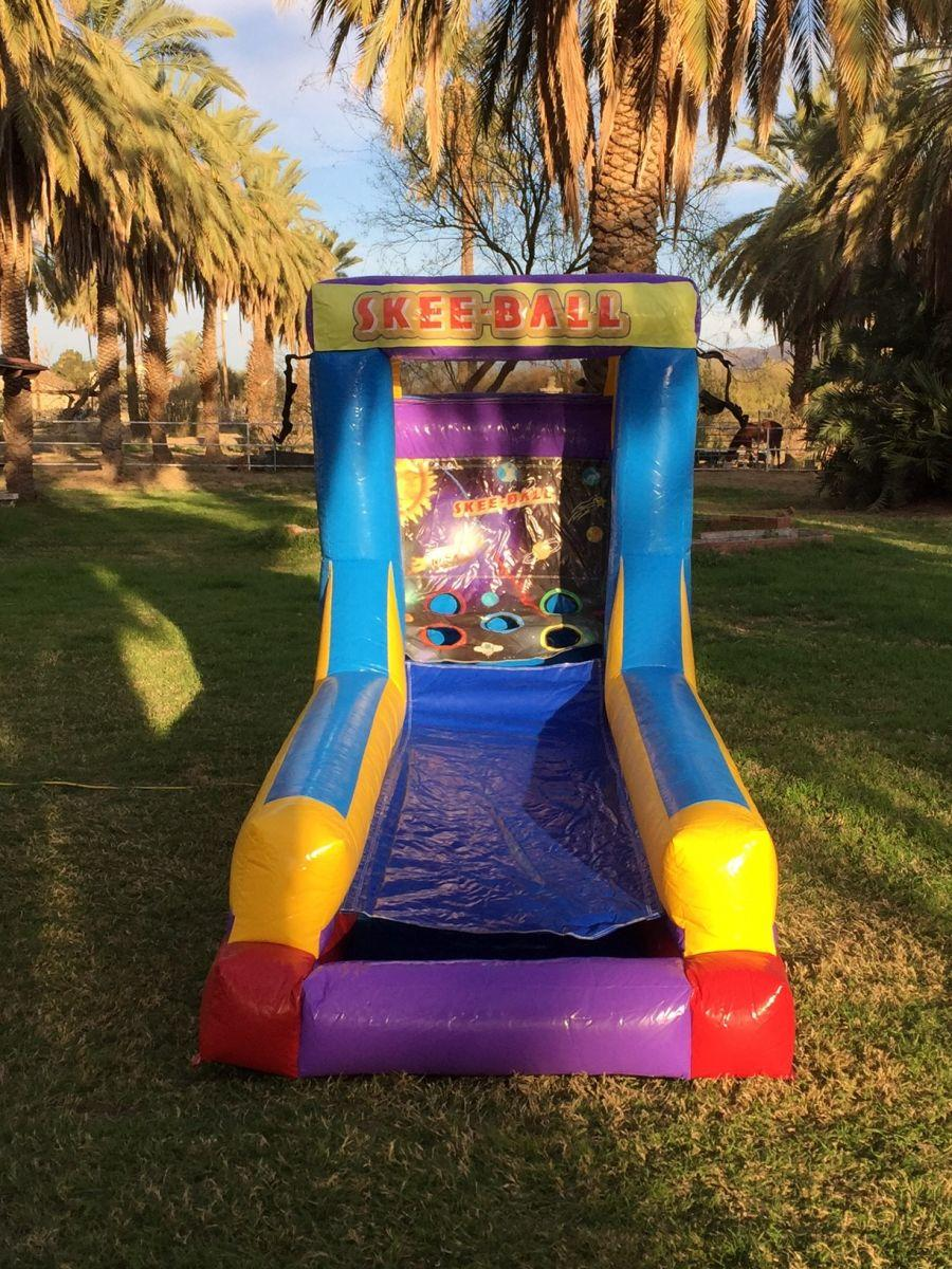 Inflatable Skee Ball Game Rental