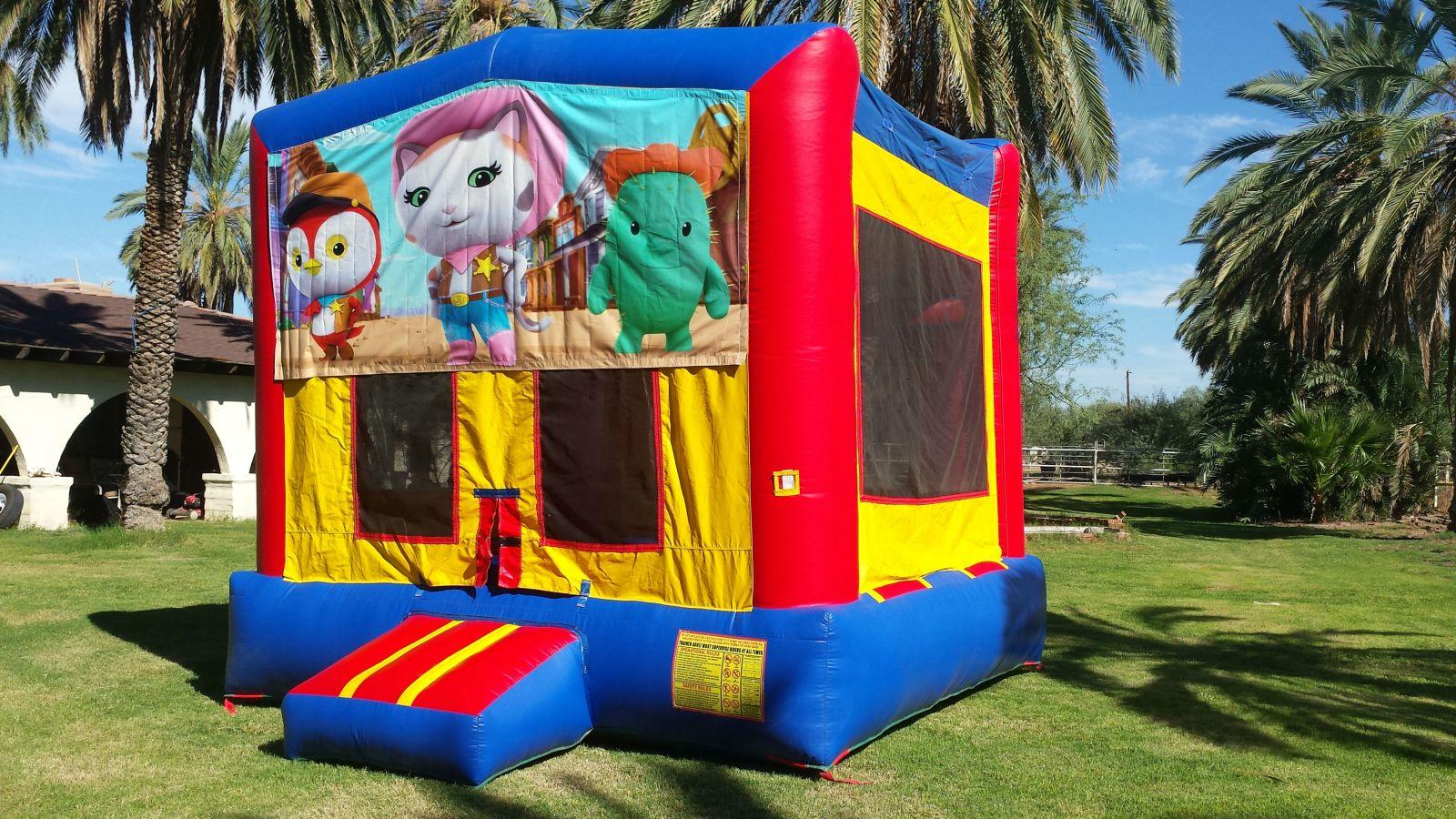 Sheriff Callie Theme Bounce House Rental