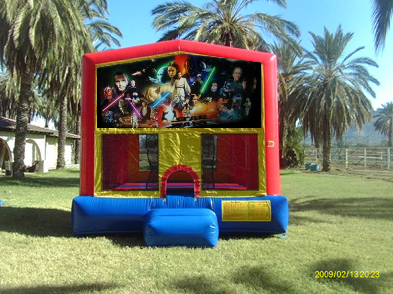 Star Wars Theme Bounce House Rental