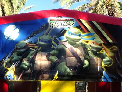 Crime Fighting Ninja Turtles, way cool!
