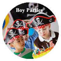 Party Ideas for Boys from A Child's Joy