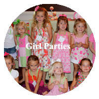 Party Ideas for Girls from A Child's Joy