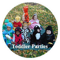 Party Ideas for Toddlers from A Child's Joy