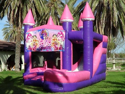 Barbie Bounce Slide Combo