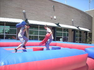 Gladiator Joust for teens