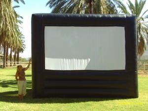 Giant Movie Screen