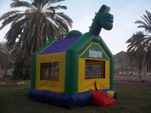 Green Dinosaur Bounce Thanksgiving Special
