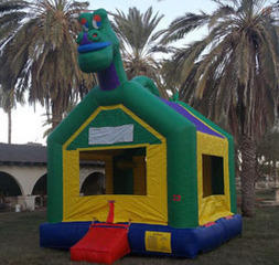 Happy Dinosaur Bounce House
