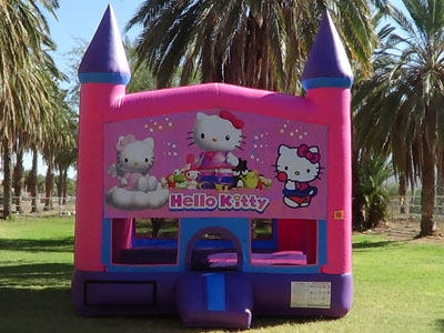 Hello Kitty Pink Bounce House