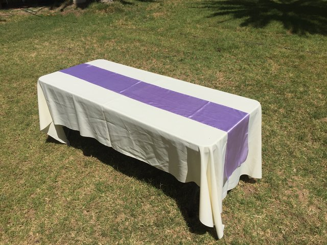 Lavender Table Runners