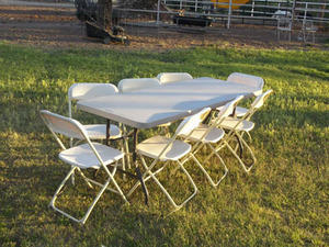 1 Adult Table & 8 Chair Package