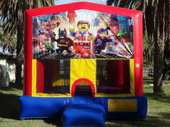 Legos Theme Bounce House