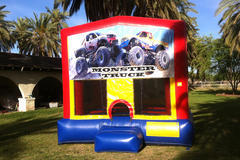 Monster Trucks Bounce House