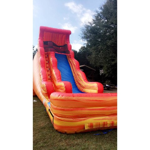 22ft Lava Slide Dry