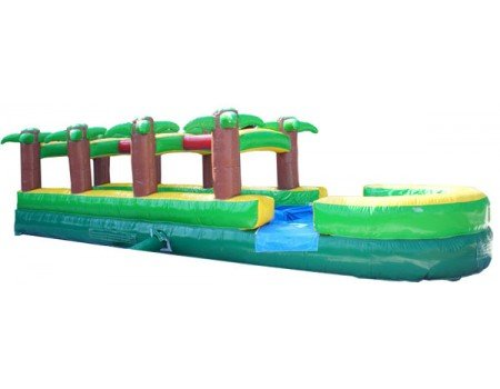 Palm Tree Single Lane Slip-n-Slide