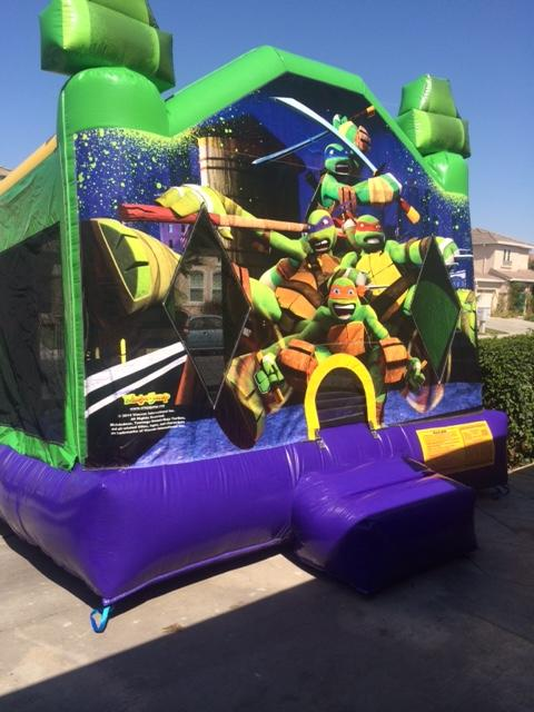 Ninja Turle Bounce House