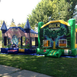 Bounce House in Park
