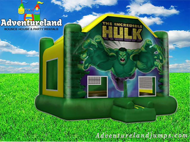 Incredible Hulk Bounce House