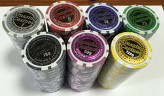 Poker Chips (500 Assorted)