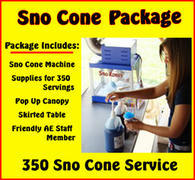 Sno Cone  Package