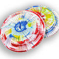 Spin Art Frisbee (Add On) Per 25 Frisbees