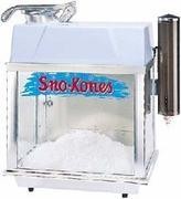 Sno Cone Machine 75 Servings Included