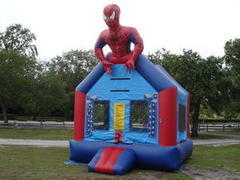 Spider Hero Bounce  13' x 17'