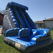 Dual Monster Wave Waterslide