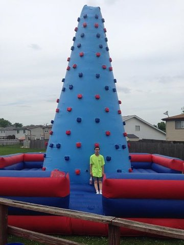 Inflatable Rock Wall (4 hour rental)