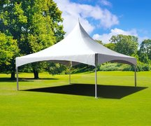 20x20 High Peak Tent White