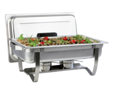 Food Warmer Chafer #1- Portable no Electricity Needed