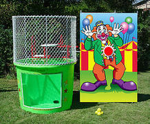 Dunk Tank- Wacky Clown