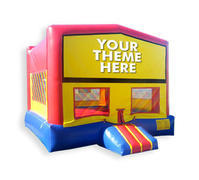 Modular Bounce House #1- pick a theme banner