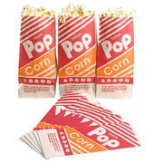 Popcorn Refill- Apprx 25 servings with bags