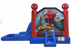 Spiderman Combo bounce house w/ pool