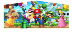 Theme Banner- Super Mario  (BANNER ONLY)