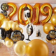 New Years Balloon Decoration