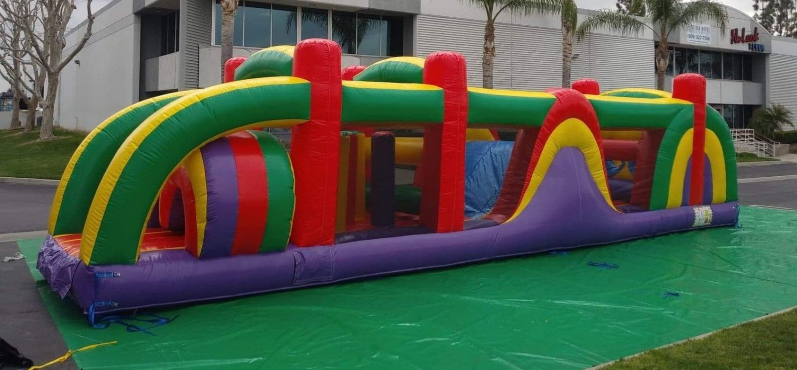 Obstacle Course Rent Rental Los Angeles Interactive Game Rentals