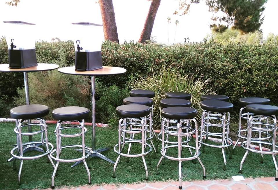 Barstool Chairs Rentals Los Angeles