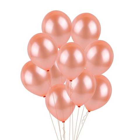 Fiesta King Rentals Rose Gold Balloon In Bulk Delivery In Los Angeles Balloon Decoration Near Me Latex Balloons With Helium Deliver In Lon Beach Area