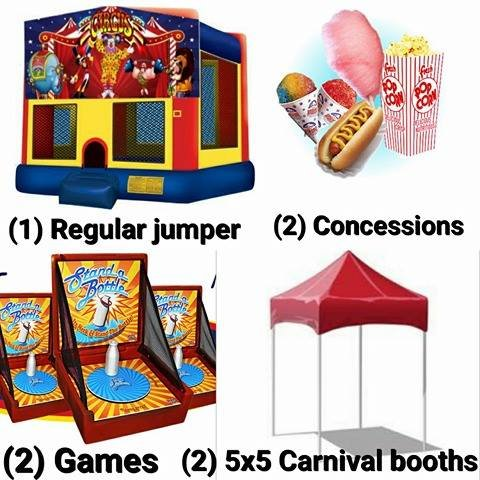 Carnival Package #1 (Space Saver Deal)