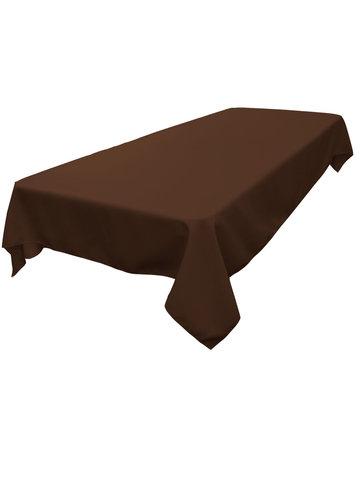 Rectangle Tablecloth (Polyester/Brown)