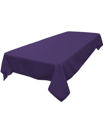 Rectangle Tablecloth (Polyester/Purple)
